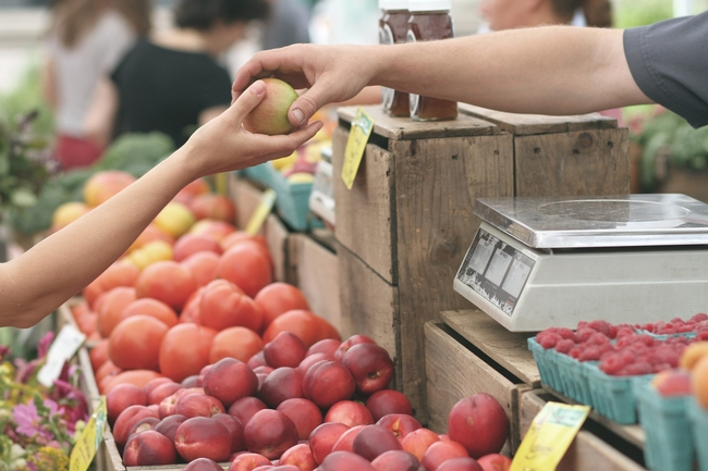 It's easier for consumers to get local food when it's purchased fresh.