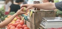 It's easier for consumers to be confident they are buying local food when it's purchased fresh. for ANR News Blog Blog