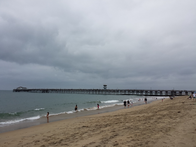 Early summer cloud cover at Seal Beach in June 2013. (Photo: Wikimedia CommonsJune Gloom at Seal Beach, California, June 2013