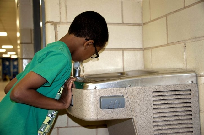 Many students attend public schools in the U.S. where tap water is not tested for lead contamination.