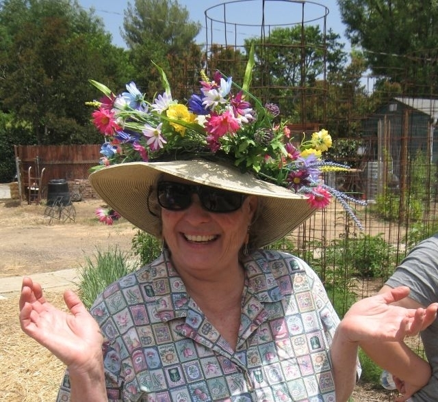 Yvonne Savio now volunteers as a UC Cooperative Extension Master Gardener.