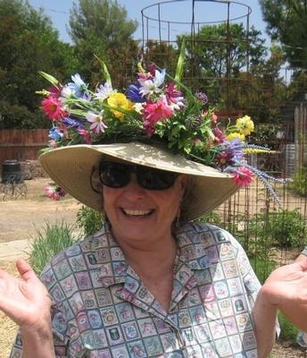Yvonne Savio now volunteers as a UC Cooperative Extension Master Gardener.