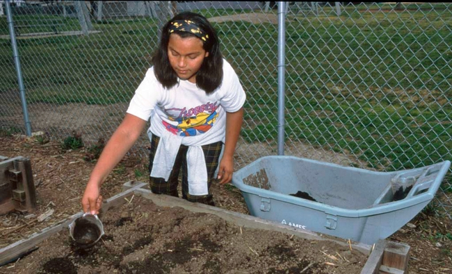 Soil prep is a gardening activity that can be accomplished before it is warm enough to add seeds and transplants.