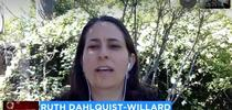 Ruth Dahlquist-Willard explained COVID-19 precautions taken at farm stands to ABC 30. for ANR News Blog Blog