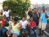 The L.A. County Common Ground Program supports community gardens in low-income areas.