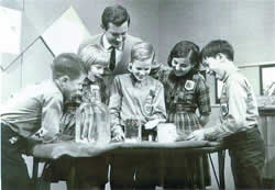 An old-time 4-H science experiment.