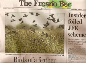 Fresno Bee front page June 4, 2007