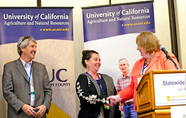 Katherine Soule, UC Cooperative Extension director and youth, families and communities advisor in San Luis Obispo and Santa Barbara counties, won the Outstanding New Academic award.