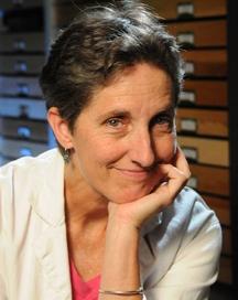 Lynn Kimsey, director of the Bohart Museum of Entomology. (Photo by Kathy Keatley Garvey)