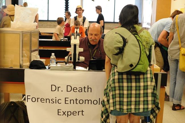 Forensic entomologist Robert Kimsey as