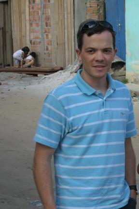 Steve Stoddard in Iquitos, Peru