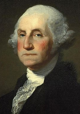 George Washington, Portrait by Gilbert Stuart
