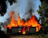 Baxter House Fire