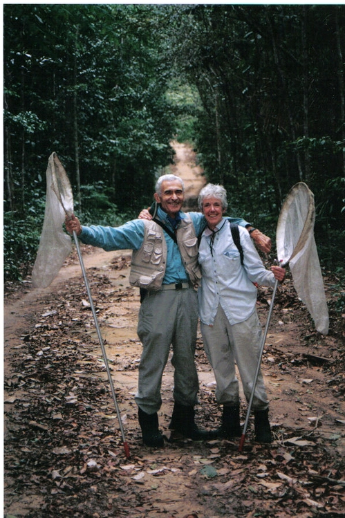 THE RESEARCHERS--Maurice and Catherine Tauber in Brazil.