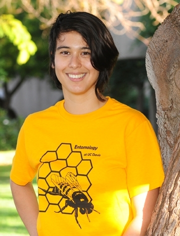 UC Davis graduate student Margaret