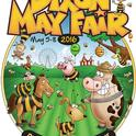 Buzzing with Excitement: This is the logo that graphic artist Steve Dana  of Dixon created for the 141st annual Dixon May Fair.