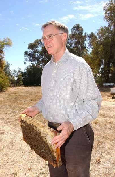 Honey bee guru Eric Mussen