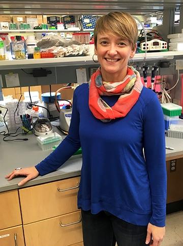Jennifer Bomberger, senior author