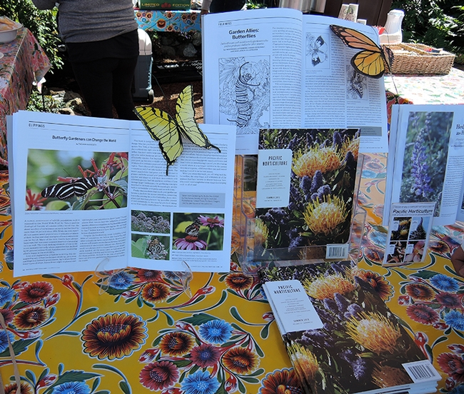 Butterflies ruled at the Butterfly Summit. (Photo by Kathy Keatley Garvey)