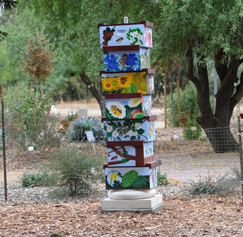 Bee Hive Column