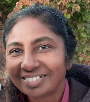 Jenita Thinakaran, UC Davis postdoctoral researcher