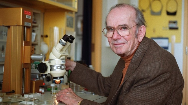 Insect chemical ecologist Thomas Eiser(1929-2011), is widely known as