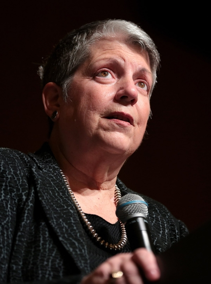 Janet Napolitano, president of the University of California system, will deliver the welcoming address at the UC Davis-based COVID-19 virtual symposium. (UC Photo)