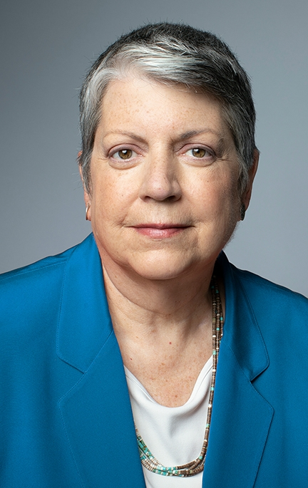 UC Systemwide President Janet Napolitano