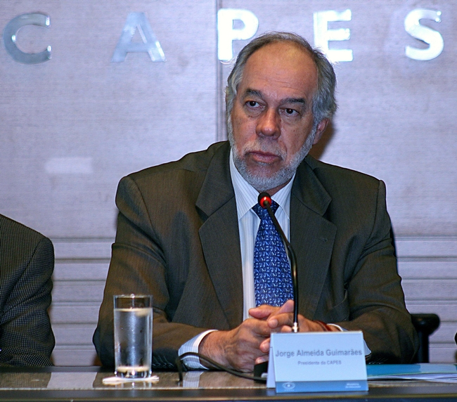Jorge Almeida Guimarães, president of CAPES, Ministry of Education, will visit UC Davis May 23.