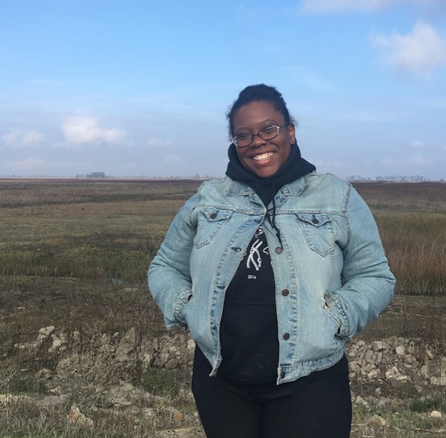 "UC Davis doctoral student Alexandria ""Allie"" Igwe has received a $138,000 National Science Foundation Postdoctoral Fellowship to work on soil microbial communities and develop novel online tools to increase interest in ecology."