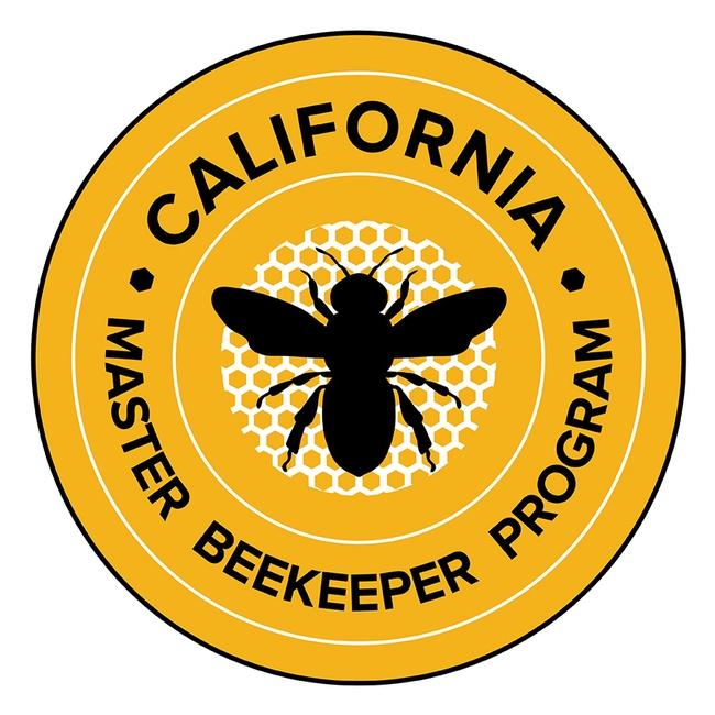 The California Master Beekeeper  Program logo.