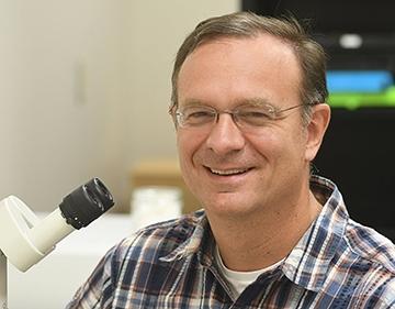 UC Davis professor Jason Bond (Photo by Kathy Keatley Garvey)