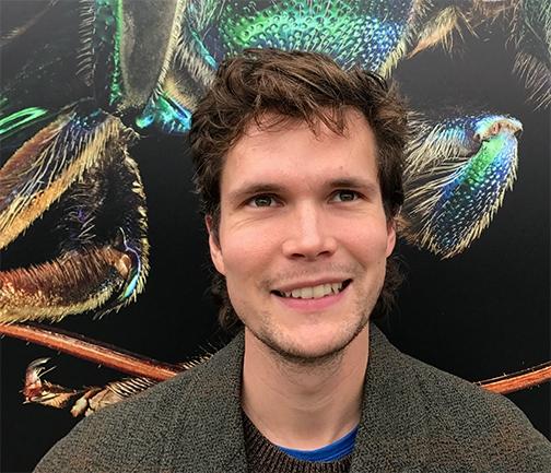 Postdoctoral researcher Charlie Casey Nicholson