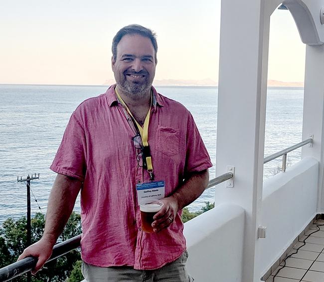 UC Davis medical entomologist-geneticist Geoffrey Attardo, a global authority on tsetse flies.