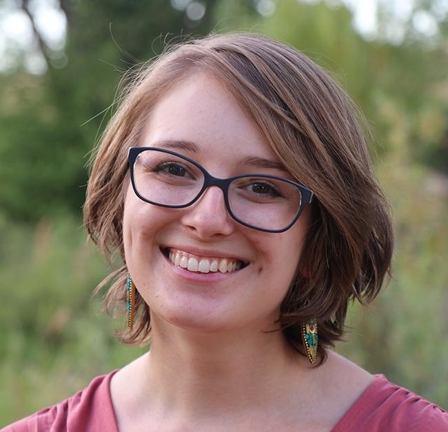 Postdoctoral scholar Jessica Kansman of Pennsylvania Sate University