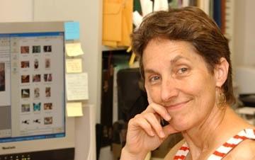 Lynn Kimsey, director of the Bohart Museum of Entomology and UC Davis professor of entomology. (Photo by Kathy Keatley Garvey)