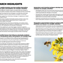 Research highlights in the impact statement include the work of UC Davis Entomology and Nematology faculty members Rick Karban and Rachel Vannette.