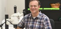 Professor Jason Bond, the Evert and Marion Schlinger Endowed Chair in Insect Systematics, UC Davis Department of Entomology and Nematology. (Photo by Kathy Keatley Garvey) for Bug Squad Blog