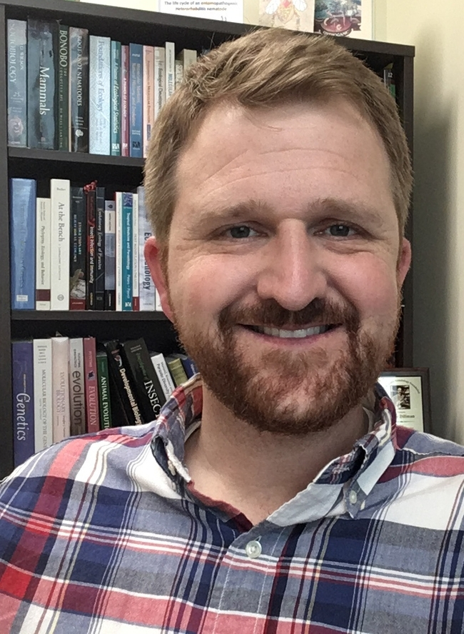 Parasitologist Adler Dillman of UC Riverside