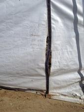 Failing end wall cloth