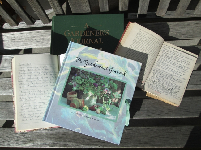 Journals come in all sorts. for The Backyard Gardener Blog