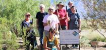 Some of the Master Gardener volunteers who work on the project. for The Backyard Gardener Blog