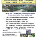 Häagen-Dazs Honey Bee Haven at UC Davis is hosting a plant sale and open house.