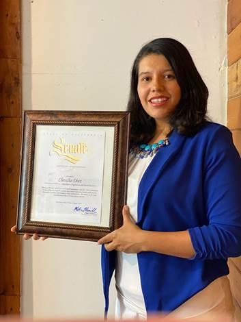 Claudia Award 2020