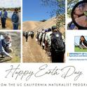 Happy Earth Day from the UC California Naturalist Program! Thanks you for all you do to make the earth a better place for all living beings.
