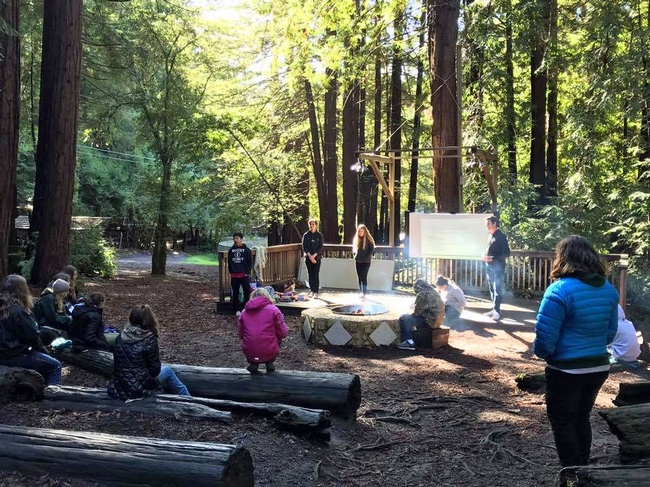 Young people from age 11 to 19 in San Mateo County took hikes and did other outdoor activities at the 4-H Youth Summit in the Santa Cruz Mountains