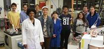 Students in the Tripati Lab. Photo courtesy of Center for Diverse Leadership in Science. for The Confluence Blog