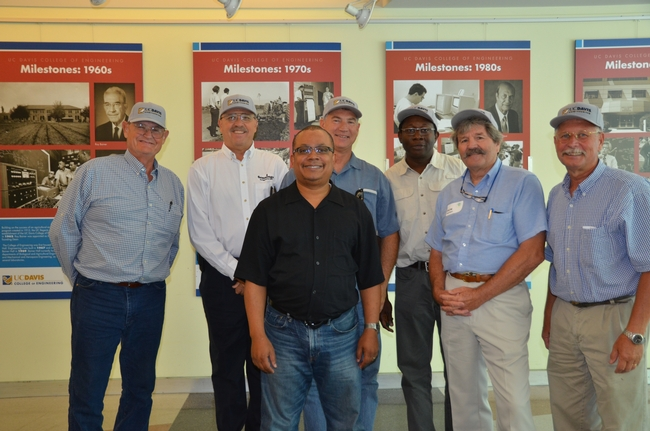 CASI team members with College of Engineering Development Office director, Greg Gibbs.