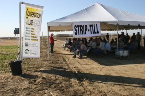 Information is available for dairy operators interested in conservation tillage.
