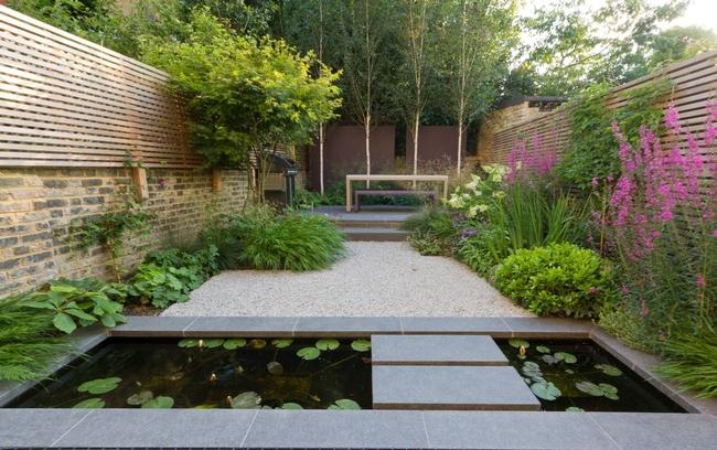 Modern garden, Eve Werner
